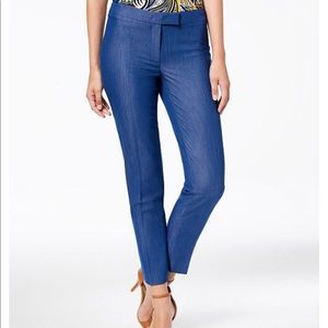 Anne Klein Soft Denim Pants